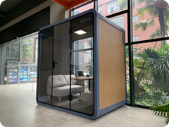 18. OB-L Silent Office & Meeting Pod in situ