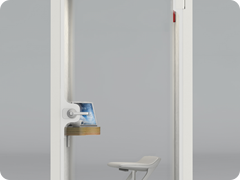 19. OB-S White Phone Booth