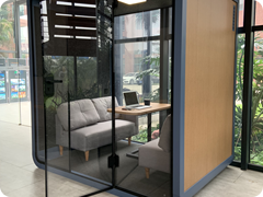 20. OB-L Silent Office & Meeting Pod in situ